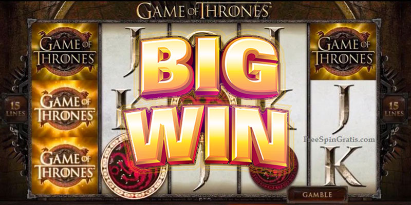 Game Of Thrones Slot Win