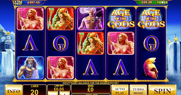 Online Slots Age of Gods