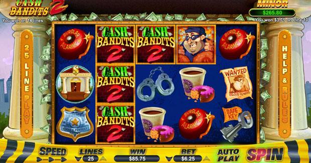 Online Slots Cash Bandits 2