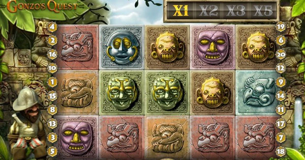Online Slots Gonzo's Quest